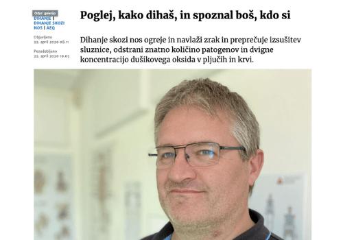 Read more about the article Aleš Ernst: Poglej, kako dihaš, in spoznal boš, kdo si