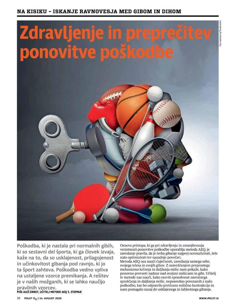 Read more about the article Zdravljenje in preprečitev ponovitve poškodbe